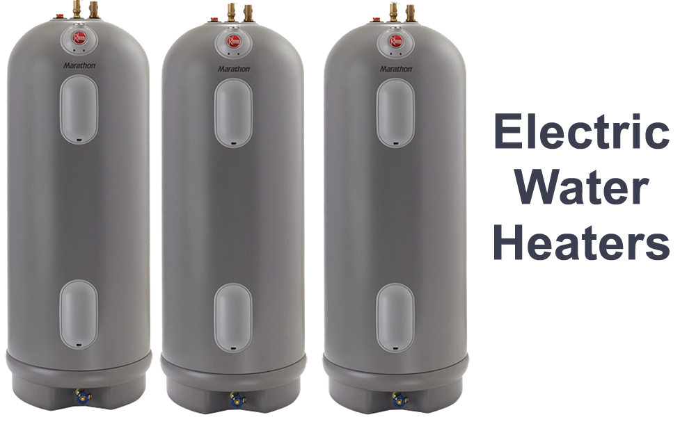 electric water heater - gas water heater